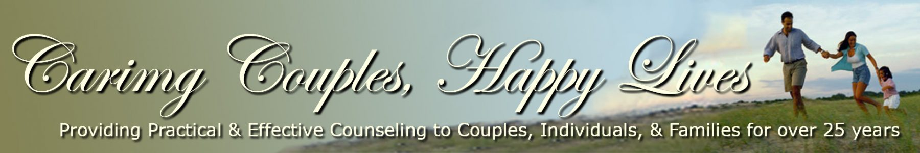 Caring Couples, Happy Lives Banner